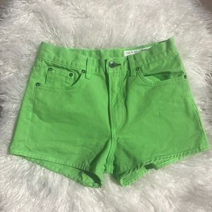 🌵NEW rag & bone lime shorts